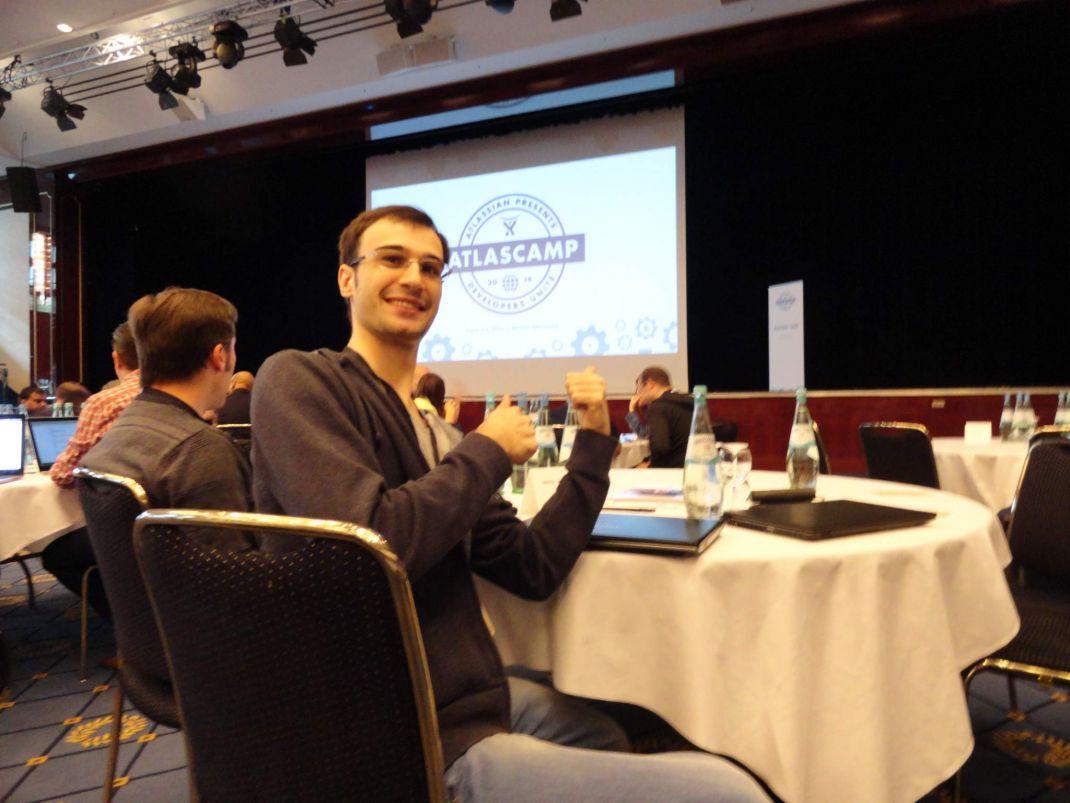 Rozdoum team at AtlasCamp