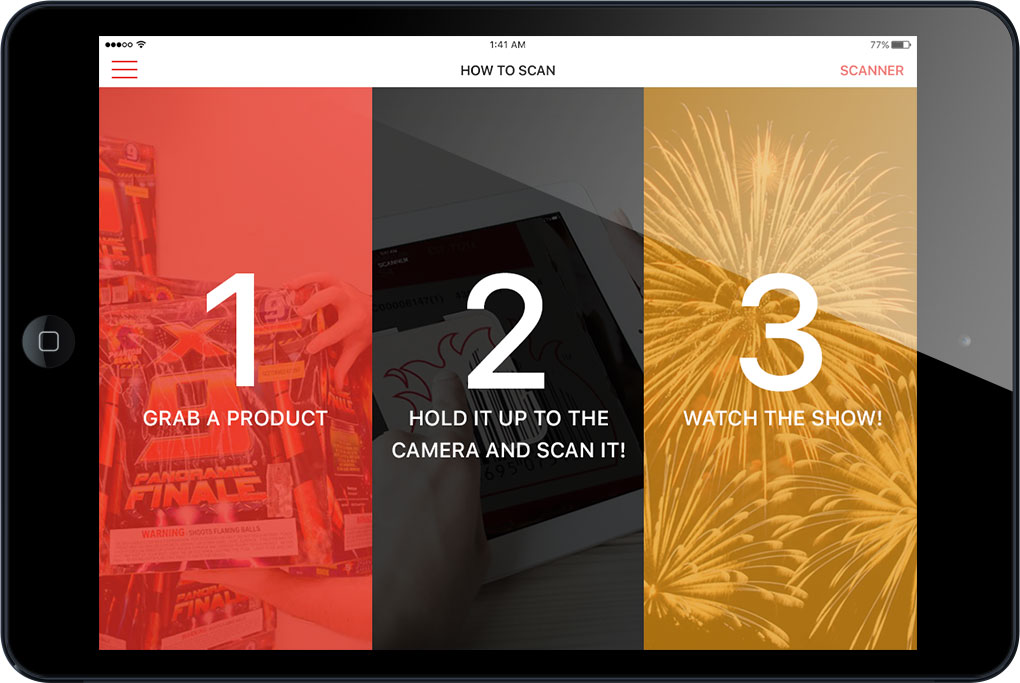 Fireworks Viewer - Choose your product