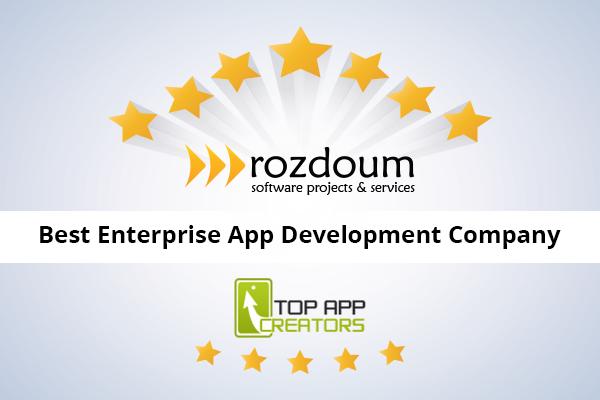 Rozdoum is in Top Ten Enterprise Development Firms