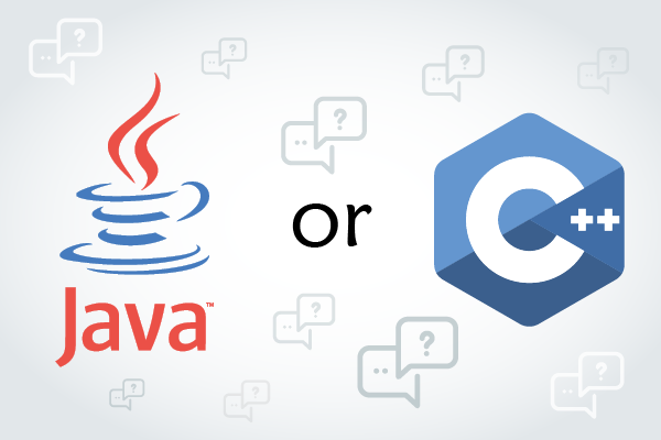Which should you choose Java or C++