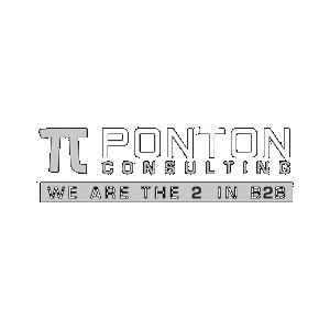Ponton white logo