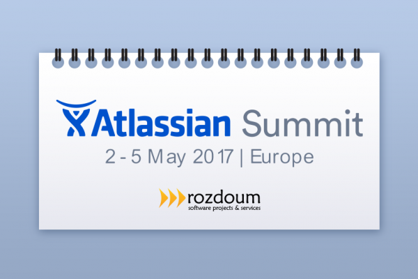 Meet Rozdoum team at Atlassian Summit 2017