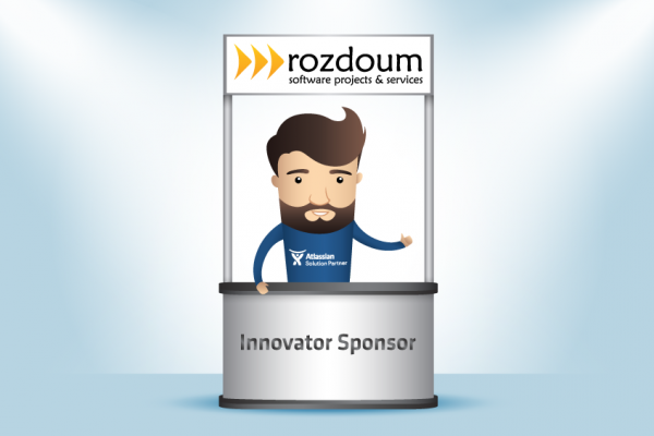 Rozdoum is an Innovator Sponsor of Atlassian Summit Europe 2017