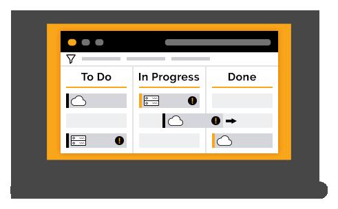 A single agile board for JIRA