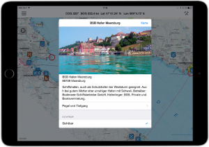 App for sailors iPad screenshot