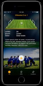 Football app case