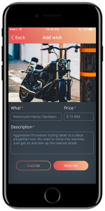 Case of developing a gift app