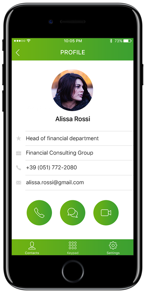 Build you mobile app for SIP client