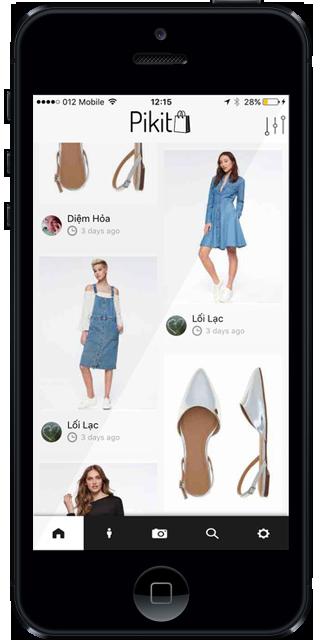Location-based marketplace application