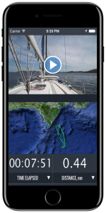 iOS Sailboat race app