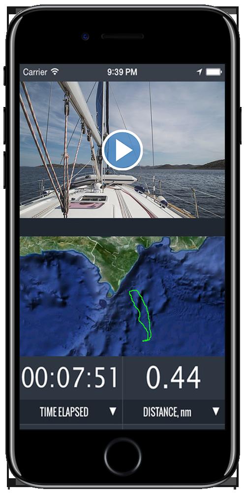 iOS Sailboat race app