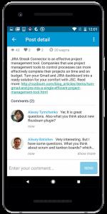 Social App features