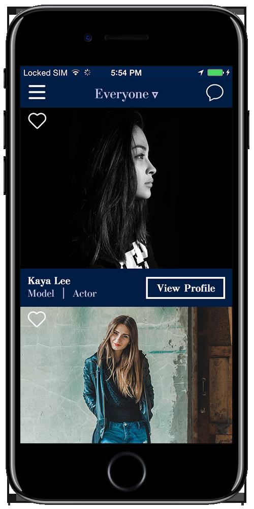 Talent Platform App for iOS
