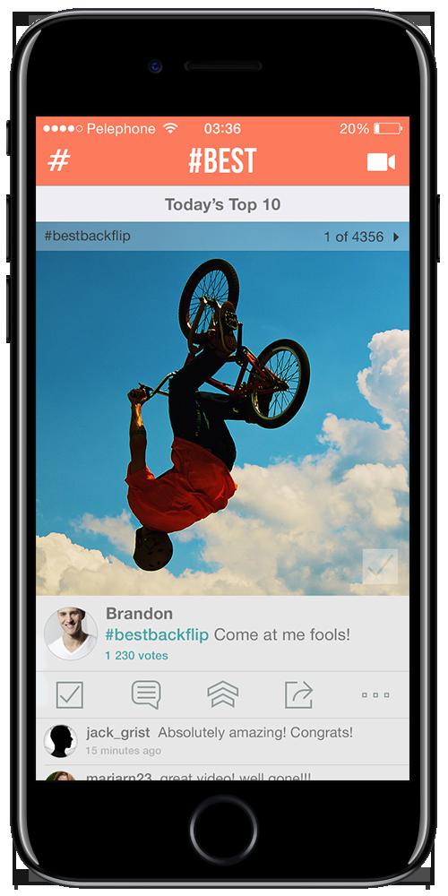 Video hosting app