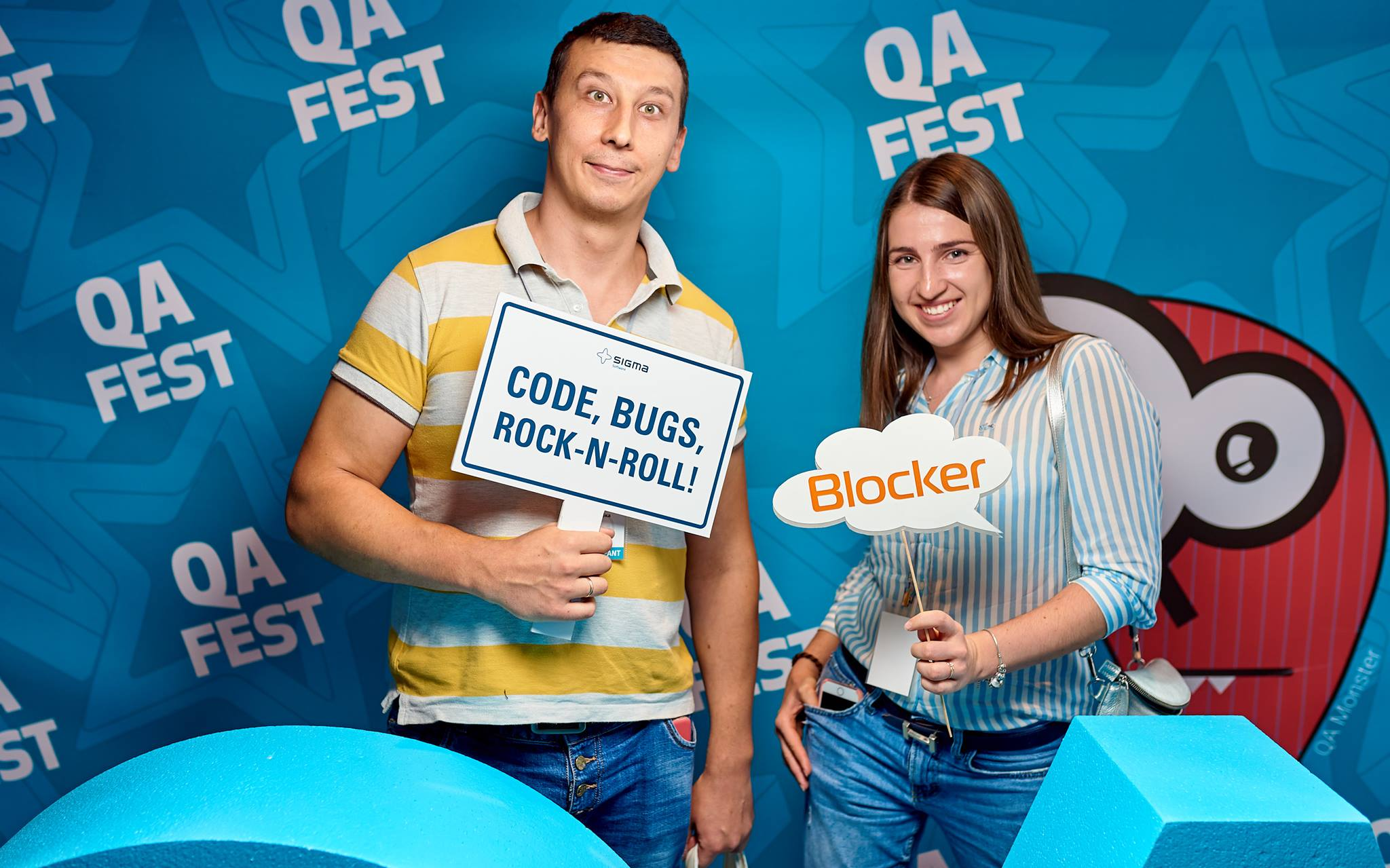 Rozdoum at QA Fest