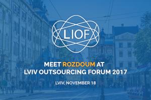 Rozdoum at LIOF 2017