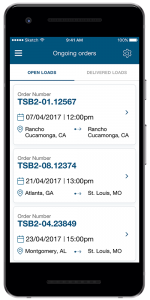 development of delivery tracking app