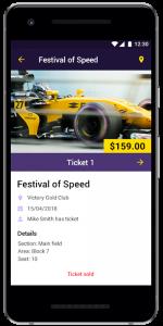 Ticket Storing App