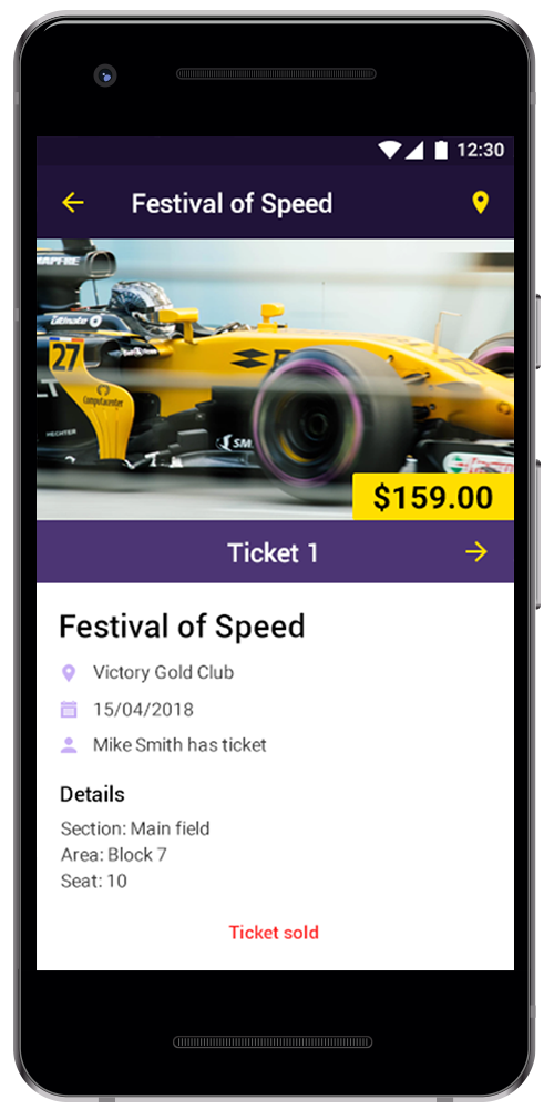 Ticket app by Rozdoum