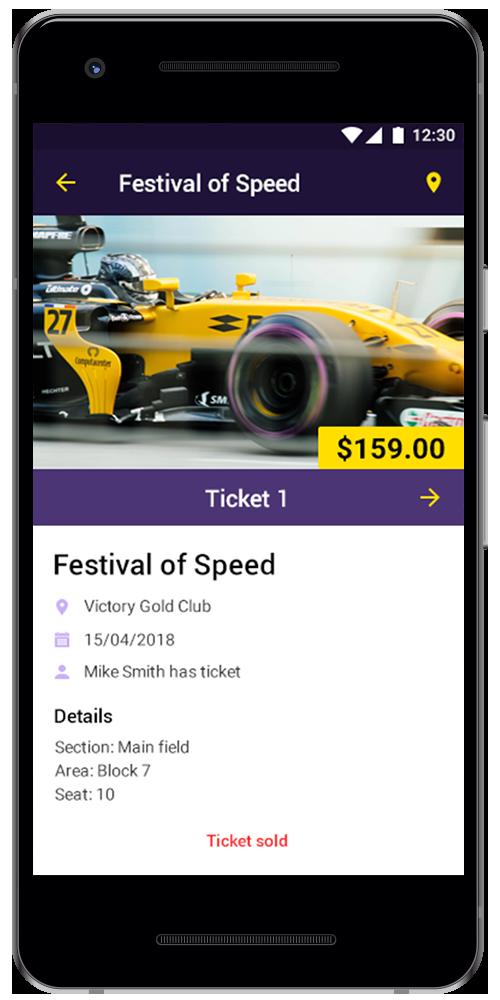Ticket app by Rozdoum