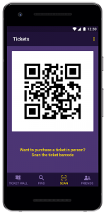 Ticket Storing App development