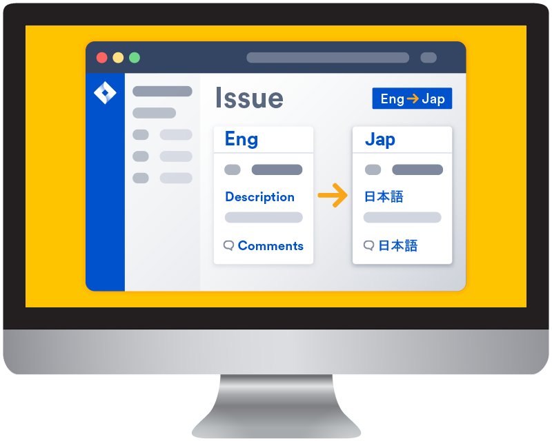 Translation app for Jira