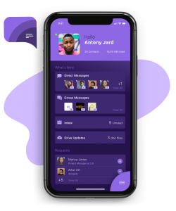 Chat messenger for ios messaging app