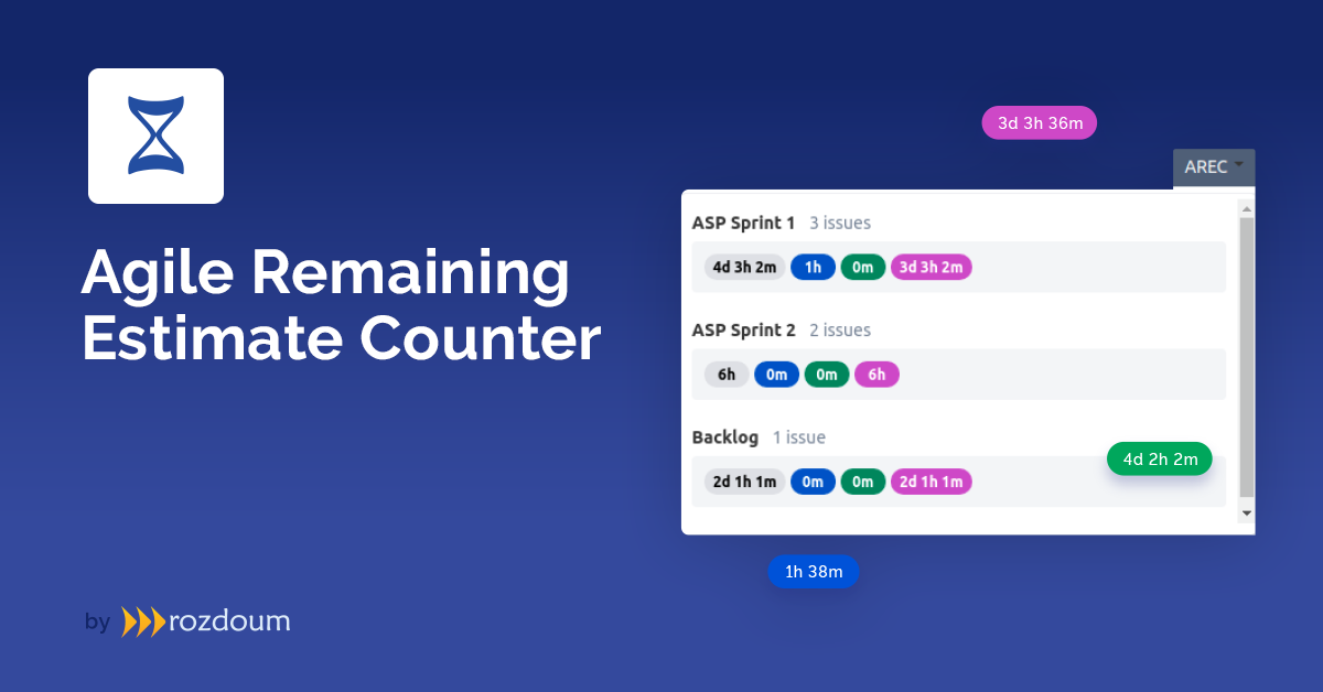 Agile Remaining Estimate Counter