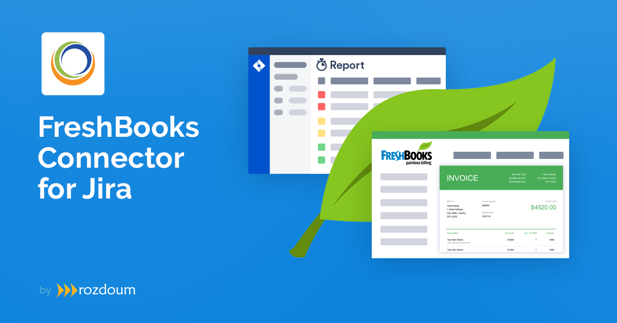 Freshbooks Connector for Jira
