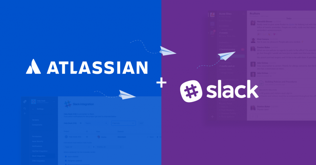 Atlassian and Slack
