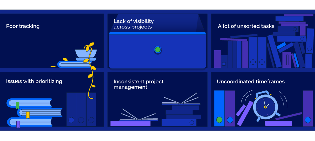 The hurdles of managing multiple projects